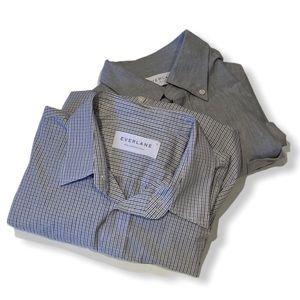 Everlane BUNDLE 2 casual button down shirts Medium